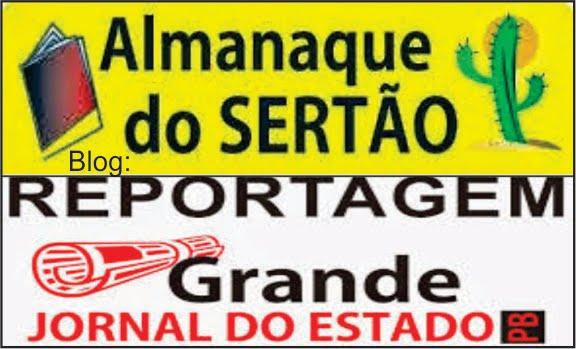 PARCEIROS  DE MUITOS  ANOS  JORNAL E FOLHETO ALMANAQUE DO SERTÃO