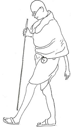 gandhiji standing coloring pages - photo#7