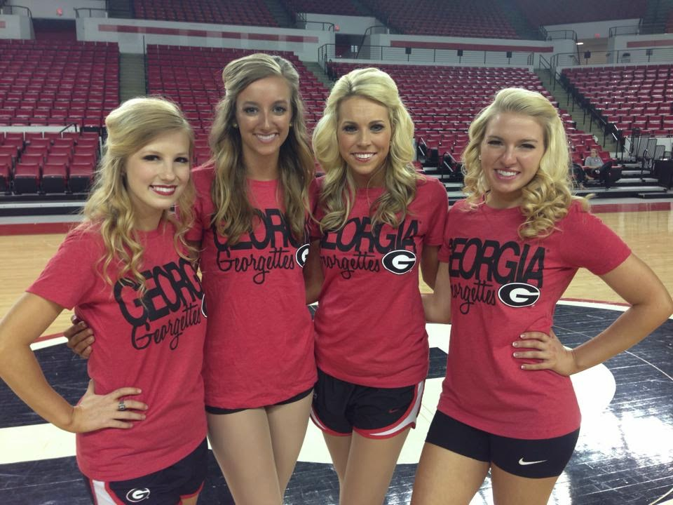 university of georgia cheerleaders nude