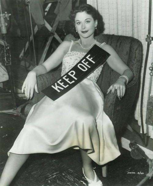 Doctor Ojiplático. Hedy Lamarr