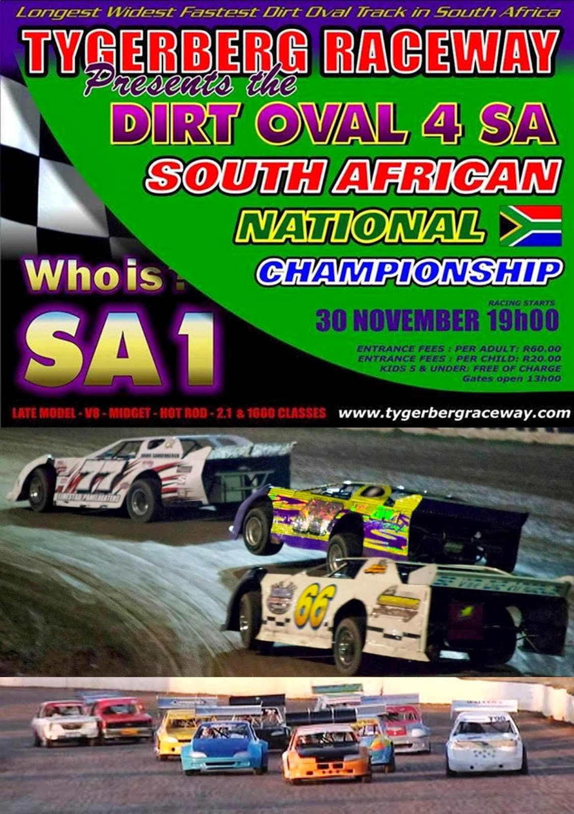 racing south midget africa in Oval