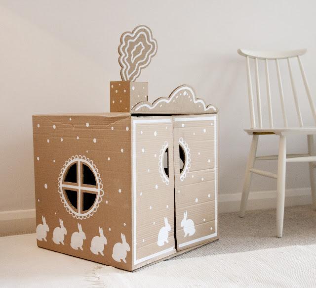 Bricolage en famille et en r cup maisons en carton - Maison et bricolage ...