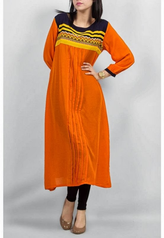 Fashion kurti design 2014