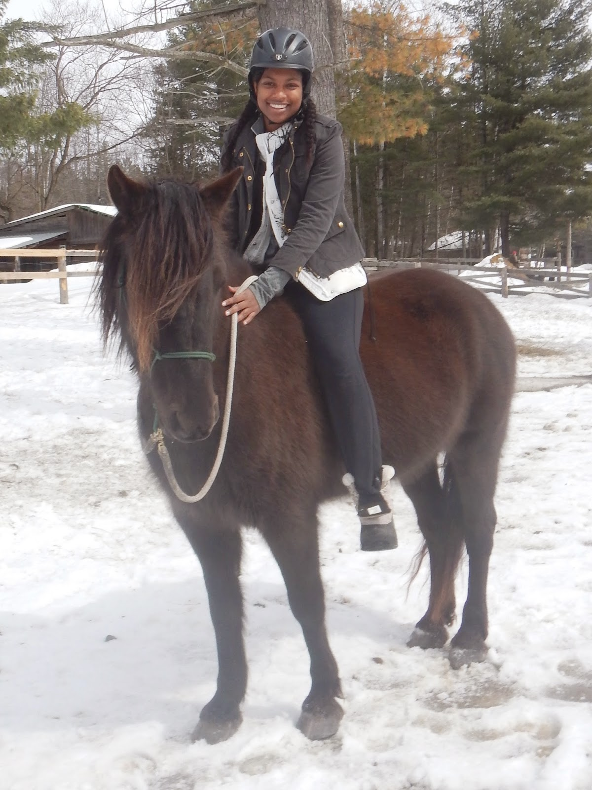 Horseback riding in Canada