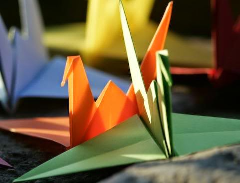 Hướng dẫn cách gấp giấy Origami - Hình con Hạc giấy đơn giản