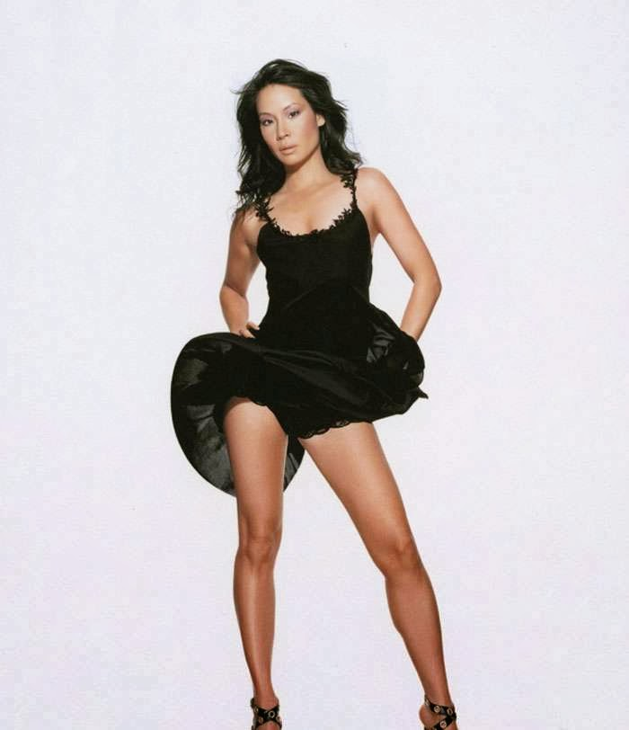 Lucy Liu Hot Asian Celebrity Panty Upskirt