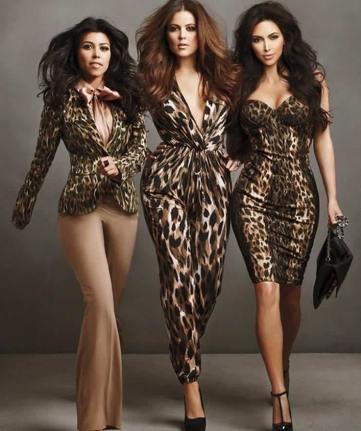 Kardashian Lingerie Kollection Campaign 2011