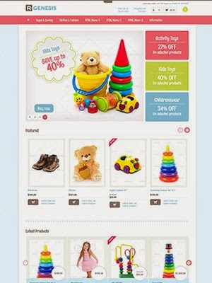 dịch vụ thiết kế website bán hàng gấu bông