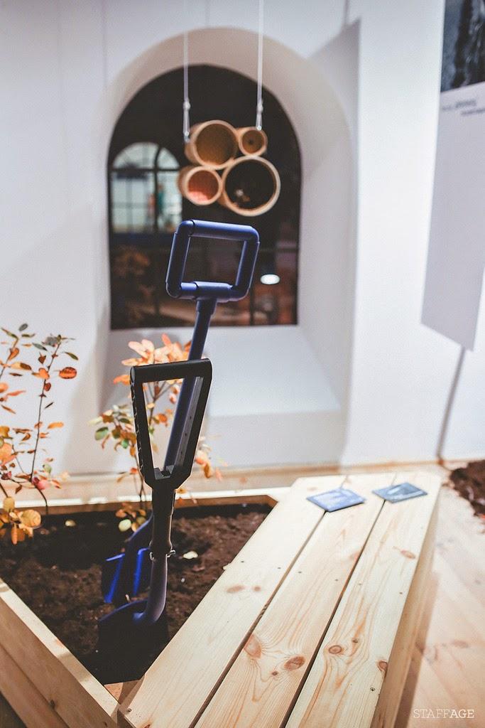 domek dla owadów designerski,ławeczka ogrodowa,ergonimiczne grabie,designerskie grabie