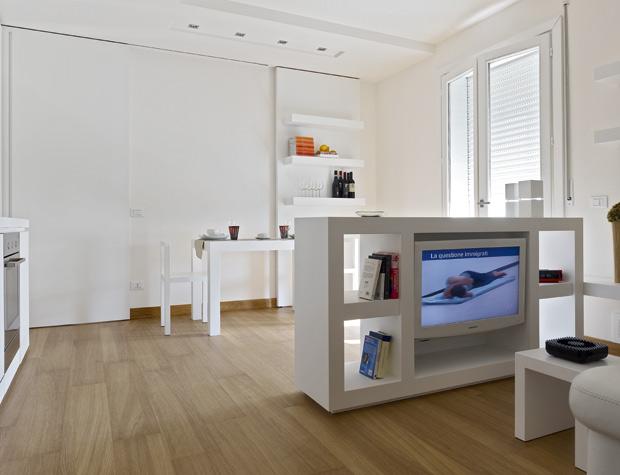 Casas minimalistas y modernas apartamento minimalista for Arredamento minimalista design