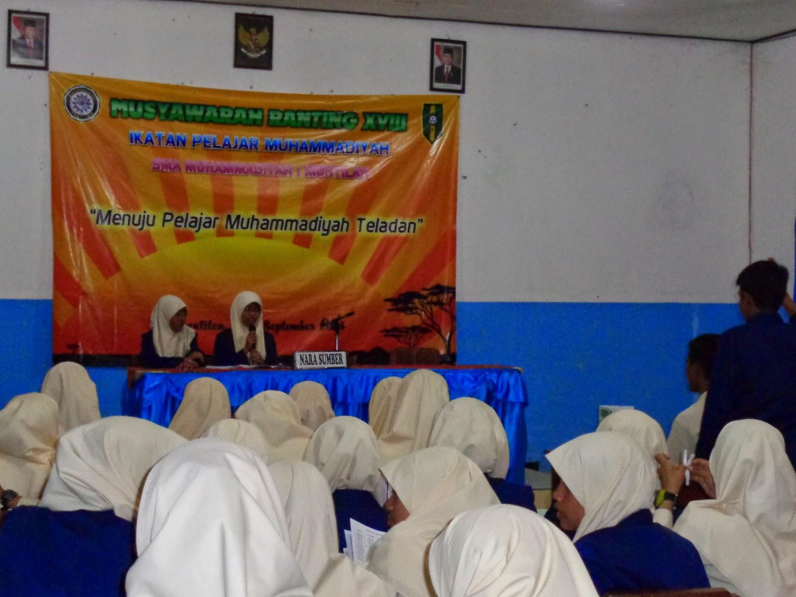 musyawarah ranting ikatan pelajar muhammadiyah sma muhammadiyah 1 muntilan
