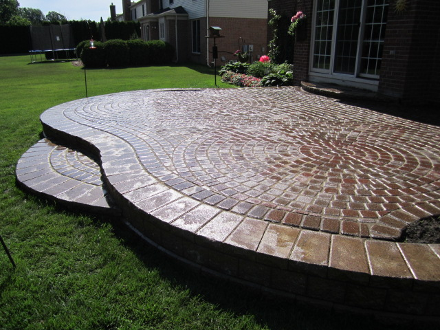 This Particular Homeowner Inherited This Distressed Raised Paver Patio A  Few Years Ago When He Purchased The Home. Had The Original Homeowner Been  Diligent ...