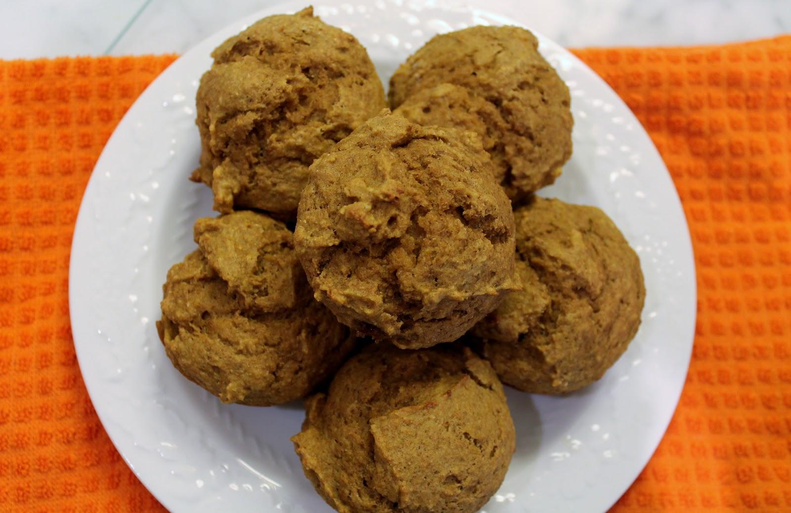Key Ingredients: Whole Wheat Pumpkin Applesauce Muffins