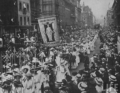 Suffragette demonstration (1910)