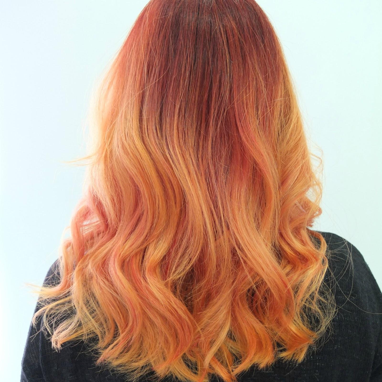 What is olaplex toni guy newcastle under lyme review hello orange ombre hair orange dip dye hair pmusecretfo Image collections