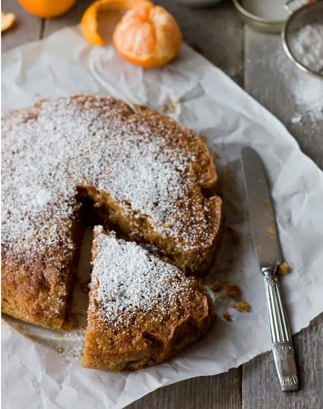torta con farina di castagne / cake with chestnut flour