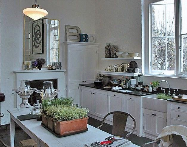 Decoraci n de cocinas un jard n en la cocina for Cocinas de jardin