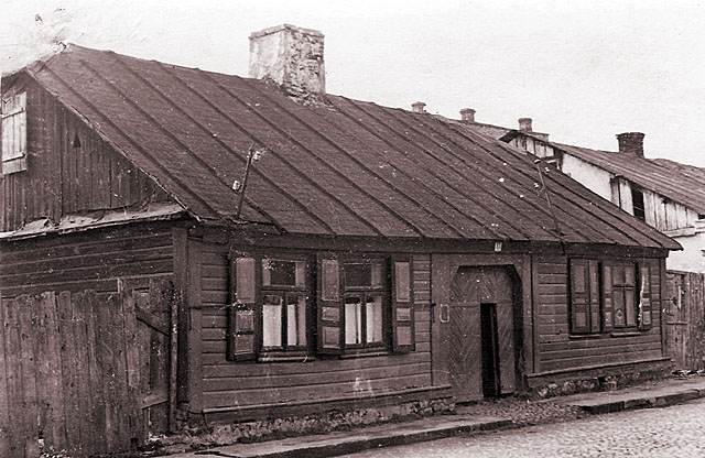 Końskie, getto, ul. Jatkowa 13. Fotografię udostępnił Mateusz Partyka