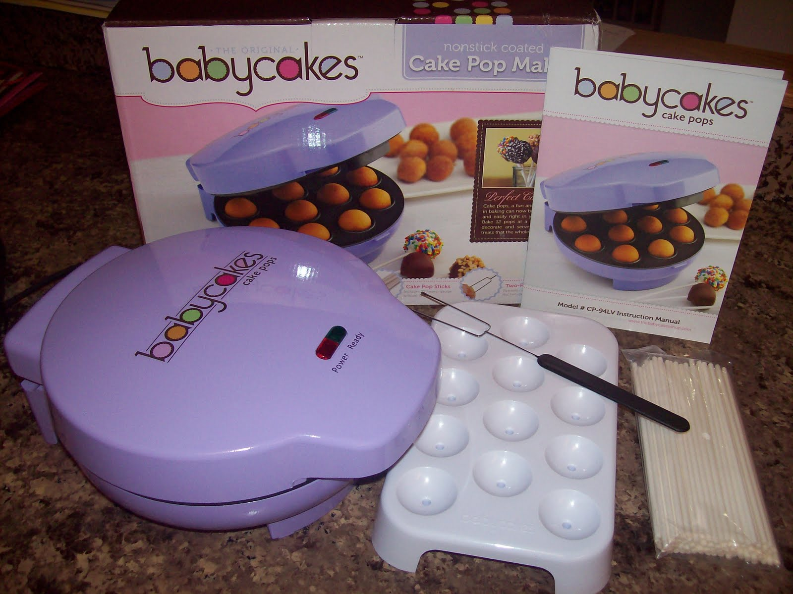 being frugal and making it work cake pops babycakes cake pop maker review. Black Bedroom Furniture Sets. Home Design Ideas
