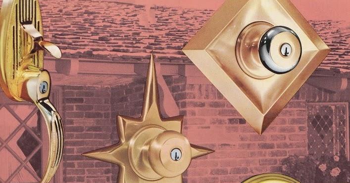 & Mad for Mid-Century: Weiser Mid-Century Modern Door Knobs