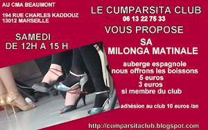 LA MILONGA MATINALE AU CMA BEAUMONT  13012