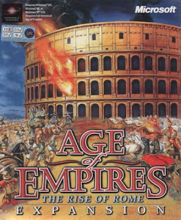 Caratula Age of Empires The rise of rome