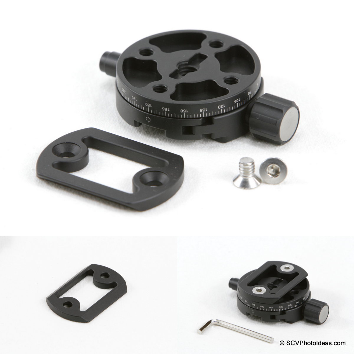 Sunwayfoto DDH-03 PC - AM-02 mounting sequence