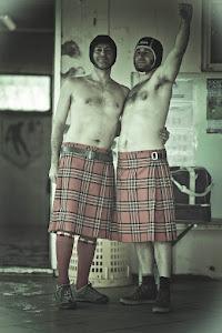 """Gio e Fidaty """"gli highlanders"""""""