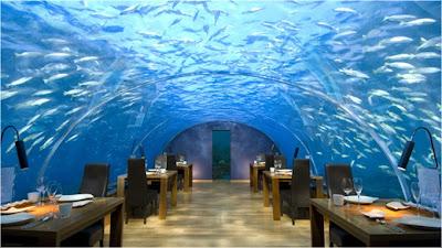 Подводный ресторан, Мальдивы