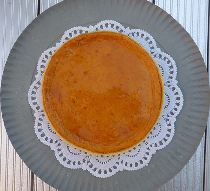 Tarte au potiron o pumpkin pie