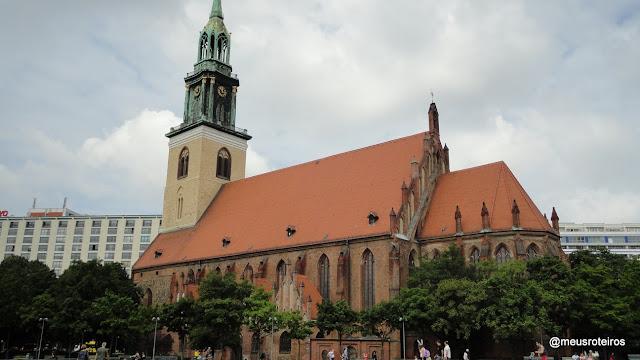 Igreja Marienkirche - Berlim
