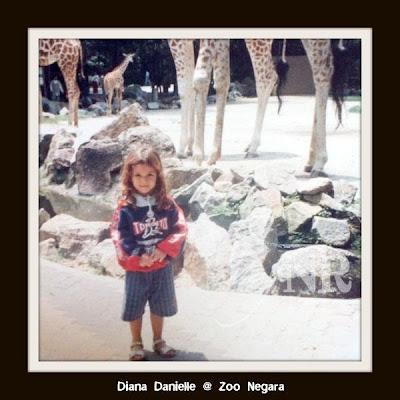 Foto Diana Danielle Waktu Kanak-kanak