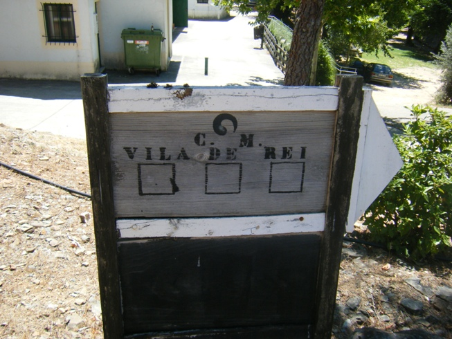 Placa CM Vila de Rei