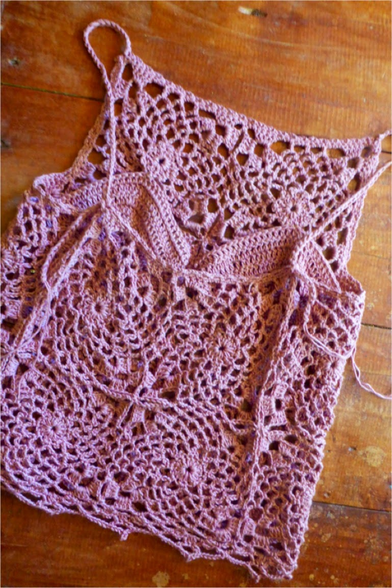 Crochetology by Fatima: Crocheted Bra with Inserts/Pads