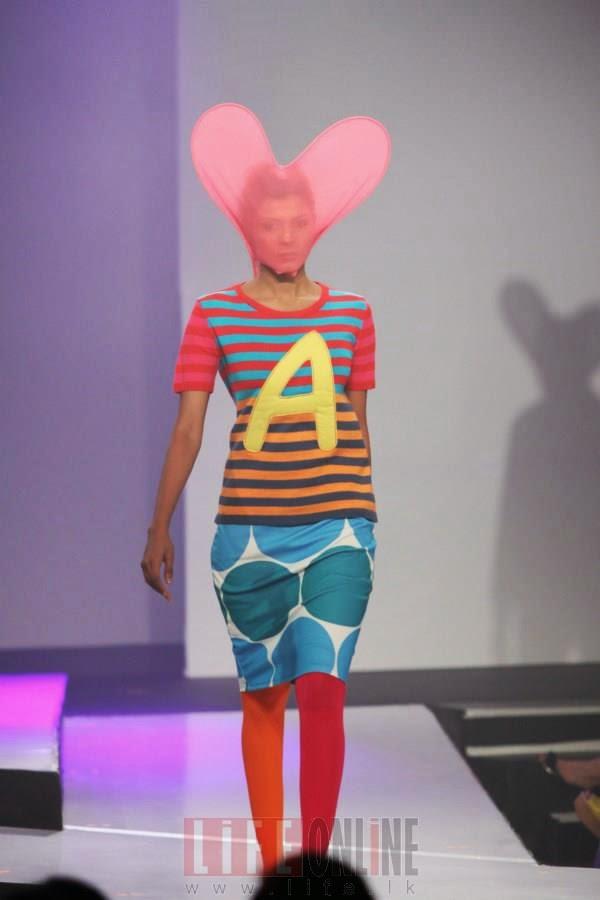 Opening night of the HSBC Colombo Fashion Week 2013