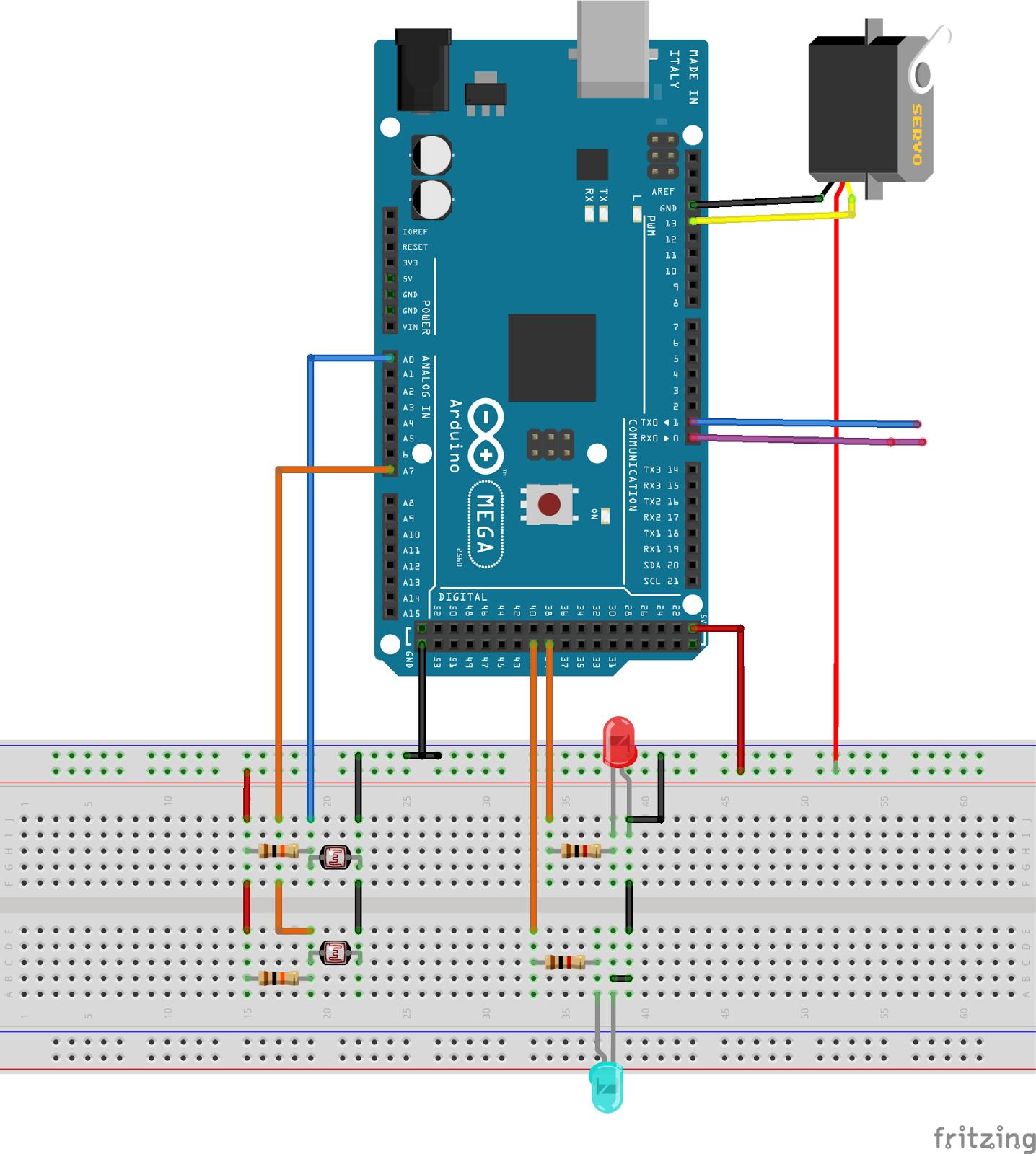 Seguidor solar quot girasol con arduino android y