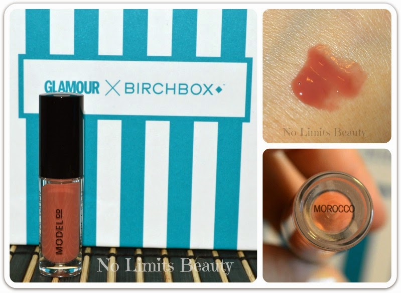 BirchBox Enero 2015- ModelCo Lip Lacquer in Morocco