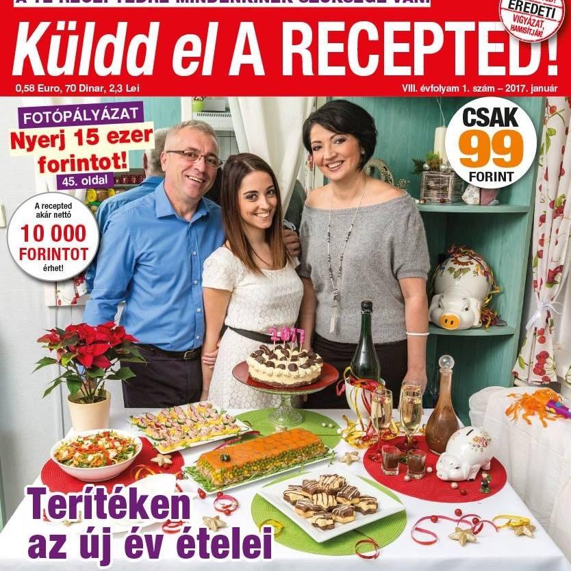 2017. Küldd el A Recepted címlap fotóján.