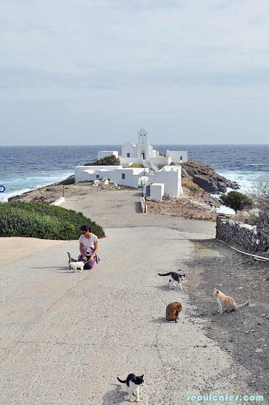 sifnos greece greek island chrissopigi