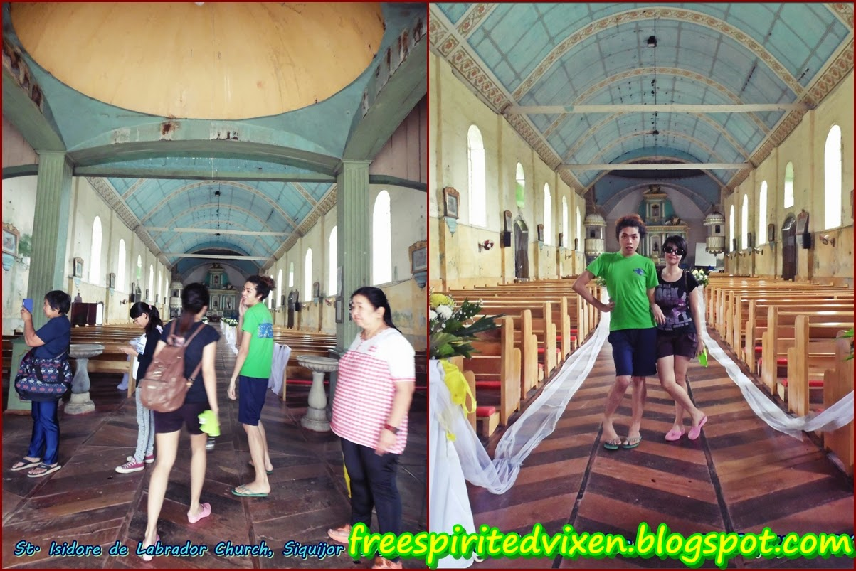 isidore de labrador church, siquijor