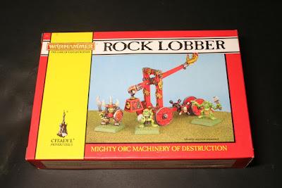 Portada de la caja Lanzador de Rocas Orco (Rock Lobber)