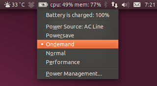 Battery Status Indicator Ubuntu 11.04