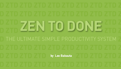 Leo Babauta Zen to Done - english visual