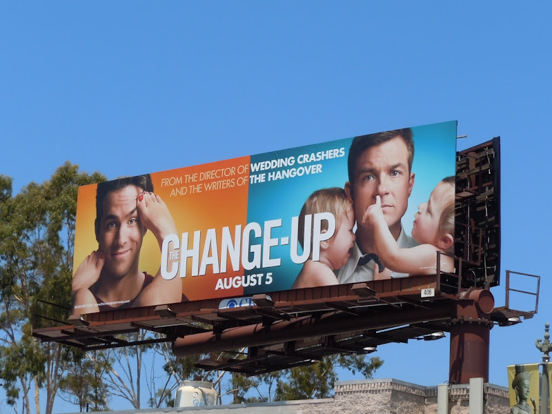 The Change-up feet movie billboard