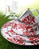 Red Damask Collection