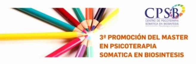 3ª promoción de Master en Psicoterapia Somática en Biosíntesis