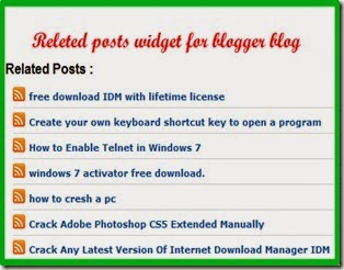 How To Add Related Posts Widget In Blogger