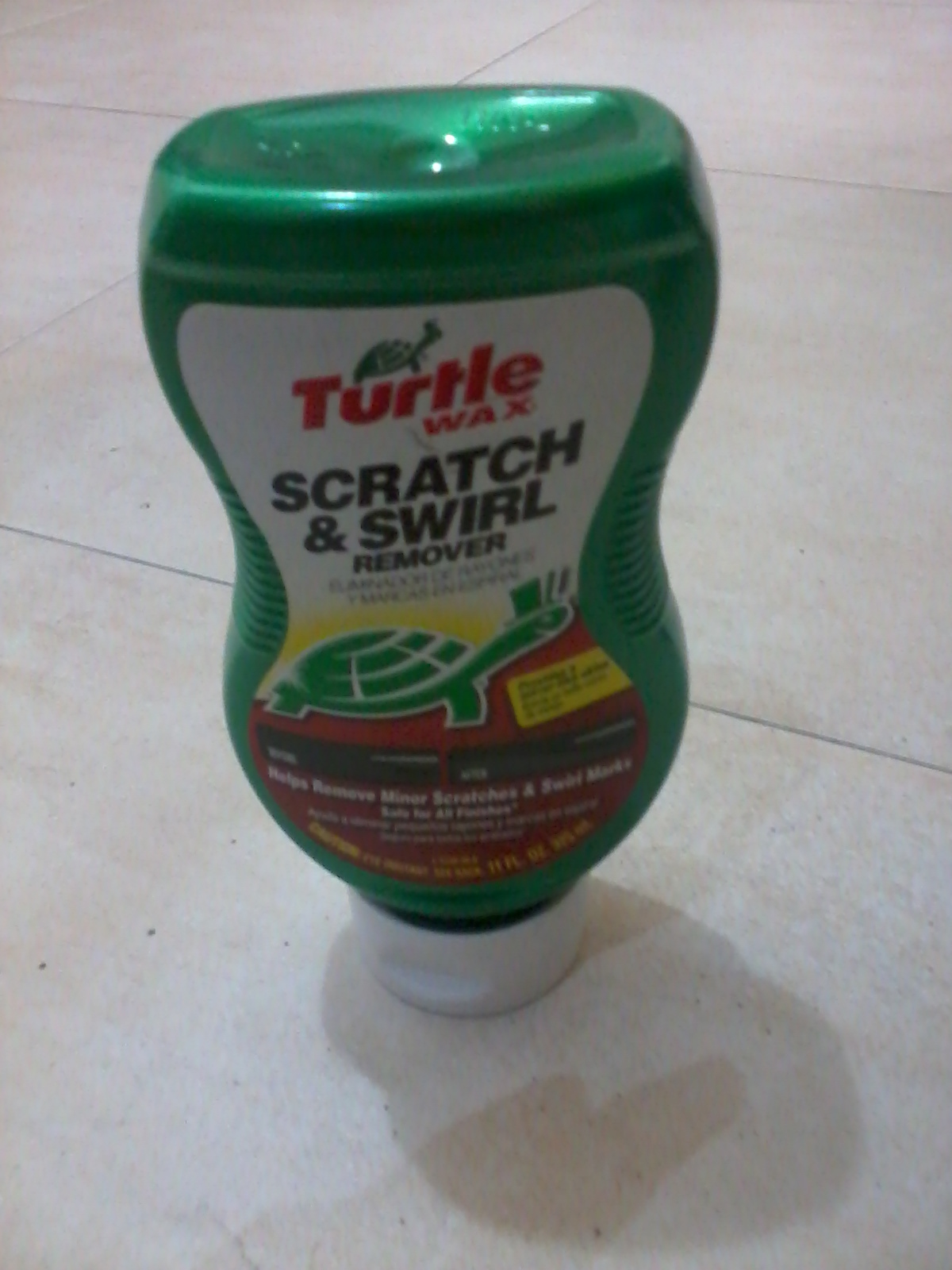 How to use and apply turtlewax scratch and swirl remover
