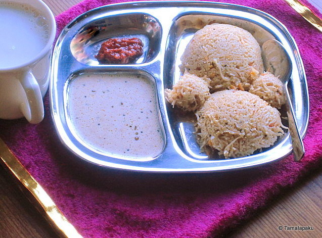 Wheat Rava - Semiya Idli