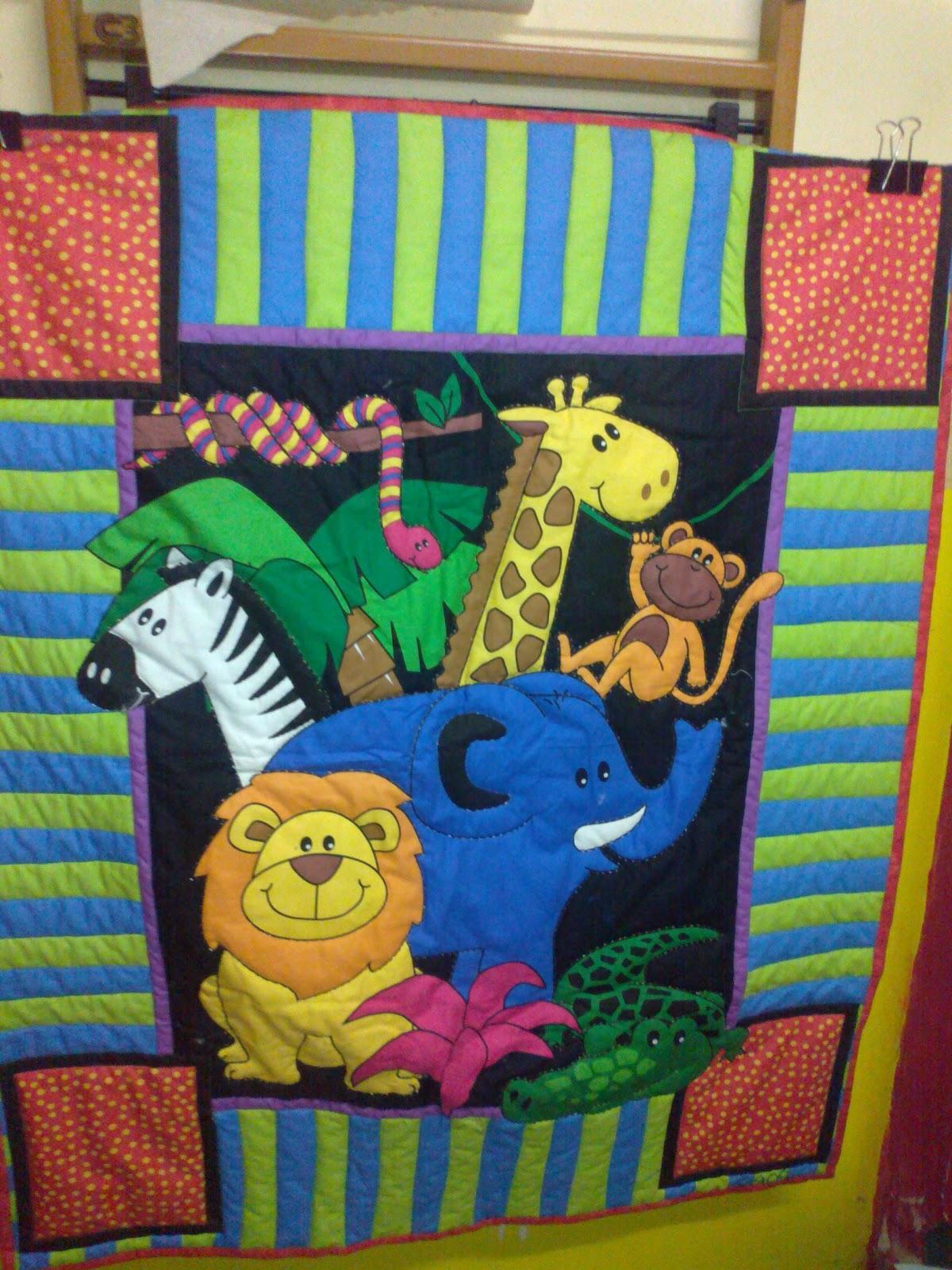 Ca ticos del patchwork colchas para beb s - Patrones para colchas de patchwork ...